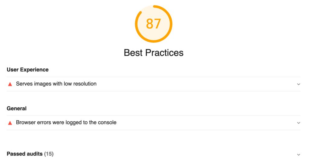 Web Vitals Best Practices